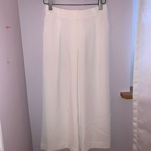 Uniqlo White Flowy Pants